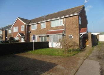 Thumbnail 3 bed end terrace house for sale in The Lawns, Sompting, Lancing, West Sussex