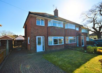 Thumbnail 3 bed semi-detached house for sale in Spinney Road, Norwich