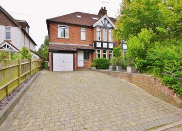 Thumbnail 5 bed semi-detached house to rent in Romford Road, Pembury, Tunbridge Wells