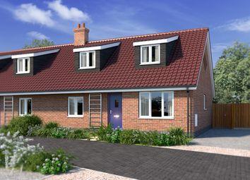 Thumbnail 3 bedroom semi-detached house for sale in Plot 4 Kells Way, Geldeston, Beccles