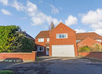 Thumbnail 4 bed detached house for sale in Triumph Road, Glenfield, Leicester