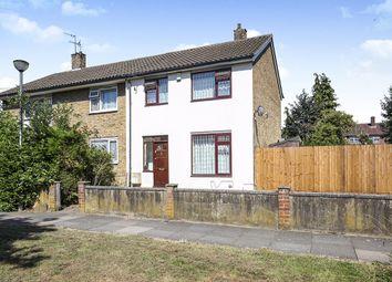 Thumbnail 3 bed terraced house for sale in Felixstowe Road, Abbey Wood, London
