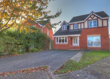 Thumbnail 4 bed detached house for sale in Cae Gwynn Close, Morda, Oswestry