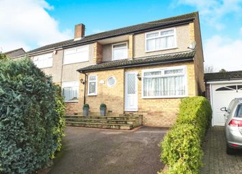 Thumbnail 5 bed semi-detached house for sale in Roselands Avenue, Hoddesdon