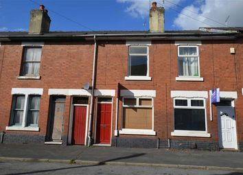 Thumbnail 2 bedroom terraced house for sale in Arnold Street, Ashbourne Road Area, Derby