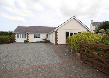 Thumbnail 3 bed detached bungalow for sale in Llanddona, Beaumaris