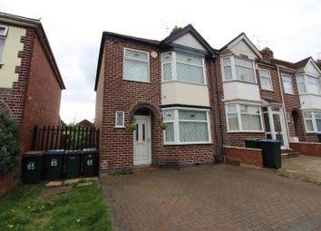 Thumbnail 3 bed property for sale in Clovelly Road, Coventry
