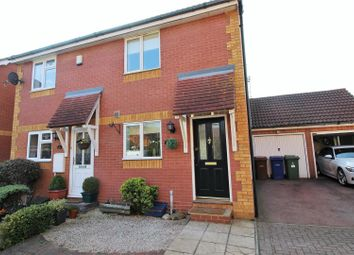 Thumbnail 2 bed semi-detached house for sale in Calshot Avenue, Chafford Hundred, Grays