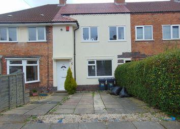 Thumbnail 3 bedroom terraced house for sale in Sandmere Road, Birmingham