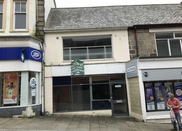 Thumbnail Retail premises for sale in 85, Fore Street, Redruth