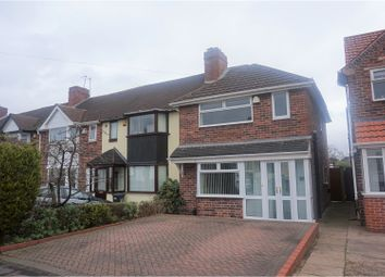 Thumbnail 3 bed end terrace house for sale in Howard Road, Solihull