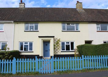 Thumbnail 3 bed terraced house for sale in Hunters Way, Culmstock, Cullompton, Devon