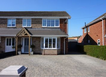 Thumbnail 4 bed semi-detached house for sale in Daggett Road, Cleethorpes