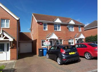 Thumbnail 2 bed semi-detached house to rent in Rimer Close, Norwich