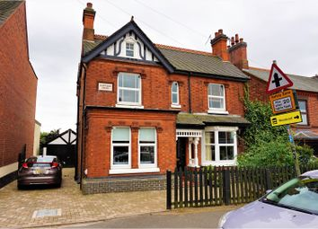 Thumbnail 4 bed detached house for sale in Ashby Road, Donisthorpe, Swadlincote