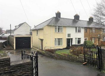 Thumbnail 3 bedroom end terrace house for sale in Brondeg, Swansea