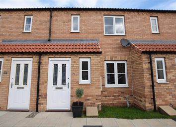 Thumbnail 2 bedroom terraced house to rent in Camellia Close, Norton, Malton