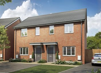 Thumbnail 2 bed semi-detached house for sale in Plot 90, The Kemble, Egstow Park, Off Derby Road, Clay Cross, Chesterfield