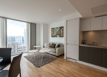 Thumbnail 1 bedroom flat to rent in Marsh Wall, Canary Wharf