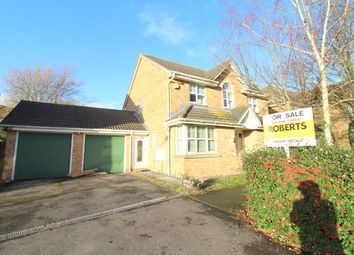 Thumbnail 4 bed detached house for sale in Heol Glaslyn, Caldicot