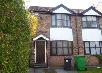 Thumbnail 2 bed semi-detached house to rent in Cresswell Grove, West Didsbury