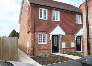Thumbnail 2 bed semi-detached house to rent in Fairfield Road, Borough Green, Sevenoaks
