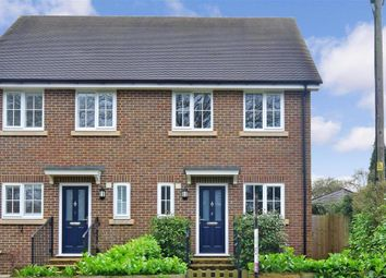 Thumbnail 4 bed semi-detached house for sale in Parkgate Road, Newdigate, Dorking, Surrey