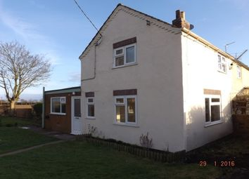 Thumbnail 2 bed cottage to rent in Sutton Road, Huttoft, Alford