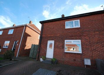 Thumbnail 2 bed semi-detached house for sale in Derwentwater Road, Newbiggin-By-The-Sea
