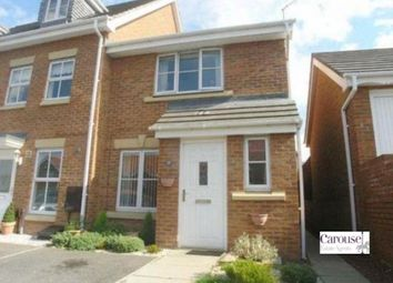 Thumbnail 3 bed end terrace house for sale in Dunkeld Close, Gateshead