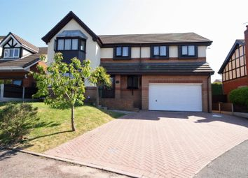 Thumbnail 5 bed detached house for sale in Kingsbury Court, Skelmersdale