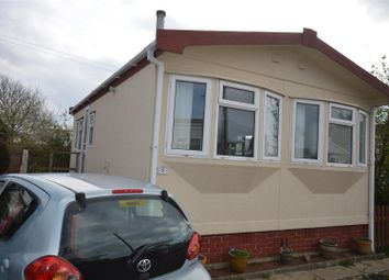 Thumbnail 2 bed mobile/park home for sale in Tremarle Home Park, North Roskear, Camborne