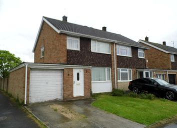 Thumbnail 3 bed semi-detached house to rent in Heronscroft, Swindon