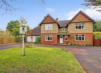 Thumbnail 5 bed detached house for sale in Danes Road, Awbridge, Romsey, Hampshire