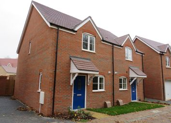 Thumbnail 2 bed semi-detached house for sale in Badgers Drive, Wantage