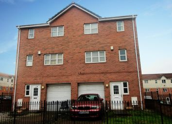Thumbnail 4 bed town house for sale in Blueberry Avenue, Millside, Manchester, Greater Manchester