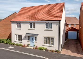 Thumbnail 4 bed detached house for sale in Sweeting Close, Creech St. Michael, Taunton