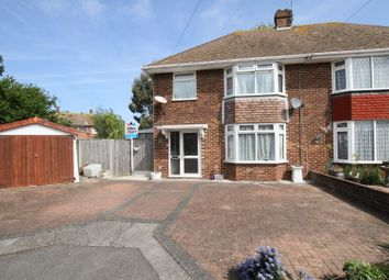 Thumbnail 3 bed semi-detached house for sale in Edgar Close, Whitstable
