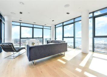 Thumbnail 3 bed flat for sale in The Moresby Tower, Admirals Quay, Ocean Village, Southampton