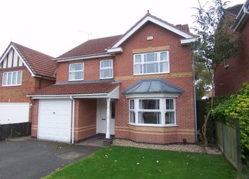 Thumbnail 4 bed detached house to rent in Ryedale Avenue, Mansfield