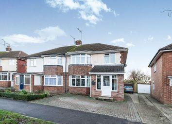 Thumbnail 3 bed semi-detached house for sale in Morley Road, Basingstoke