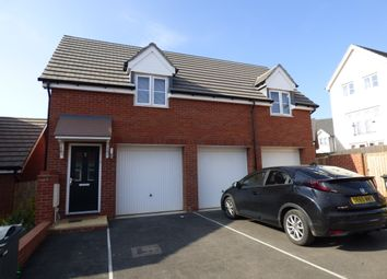 Thumbnail 2 bed flat to rent in Tremlett Meadow, Cranbrook, Exeter