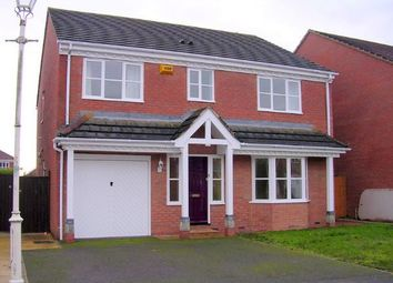 Thumbnail 4 bed detached house to rent in Kestrel Way, Aylesbury