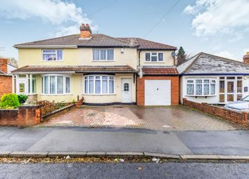 Thumbnail 4 bed semi-detached house for sale in Uplands Road, Willenhall