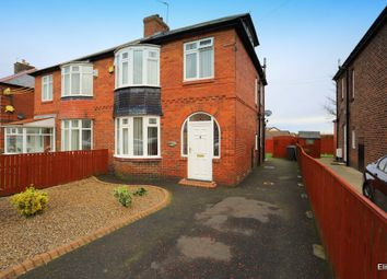 Thumbnail 4 bed semi-detached house for sale in The Leazes, Burnopfield, Newcastle Upon Tyne
