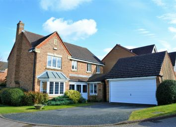 Thumbnail 4 bedroom detached house for sale in Grimsthorpe Close, Grantham
