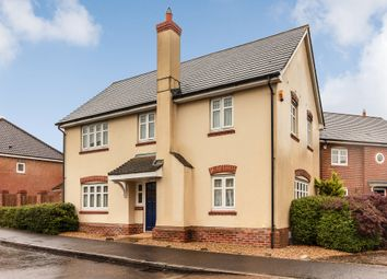 Thumbnail 4 bedroom detached house for sale in Chineham Close, Elvetham Heath, Fleet