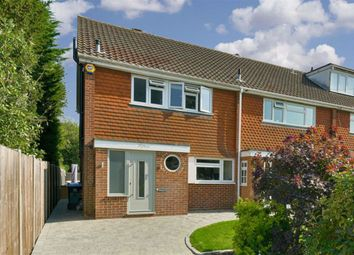 Thumbnail 3 bed end terrace house for sale in West Road, Chessington, Surrey