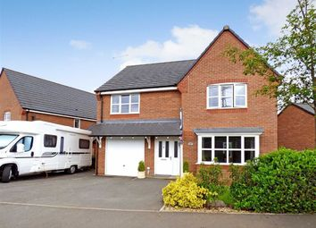 Thumbnail 4 bed detached house for sale in Shannon Court, Shannon Drive, Stoke-On-Trent