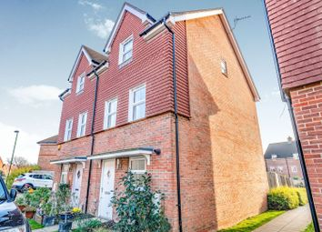 Thumbnail 4 bed semi-detached house for sale in Worsfield Road, Horsham